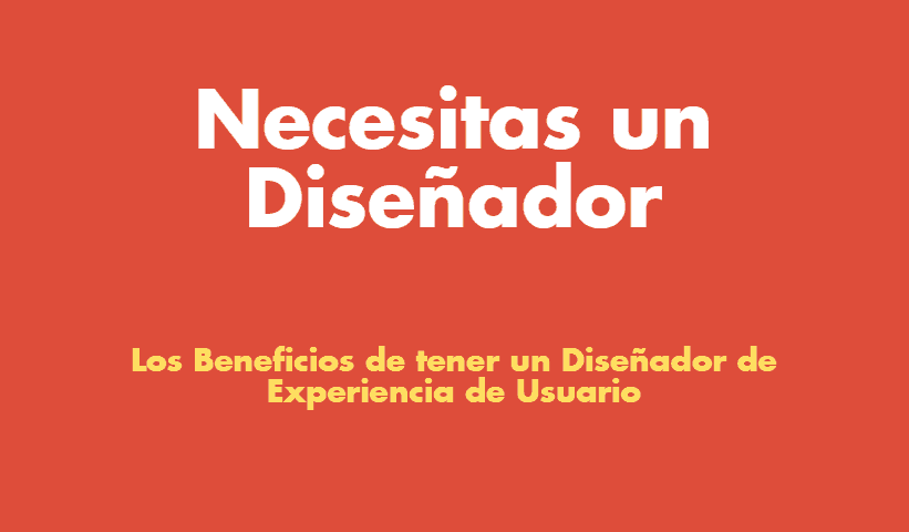 [Infográfico] Beneficios de tener un diseñador de experiencia de usuario